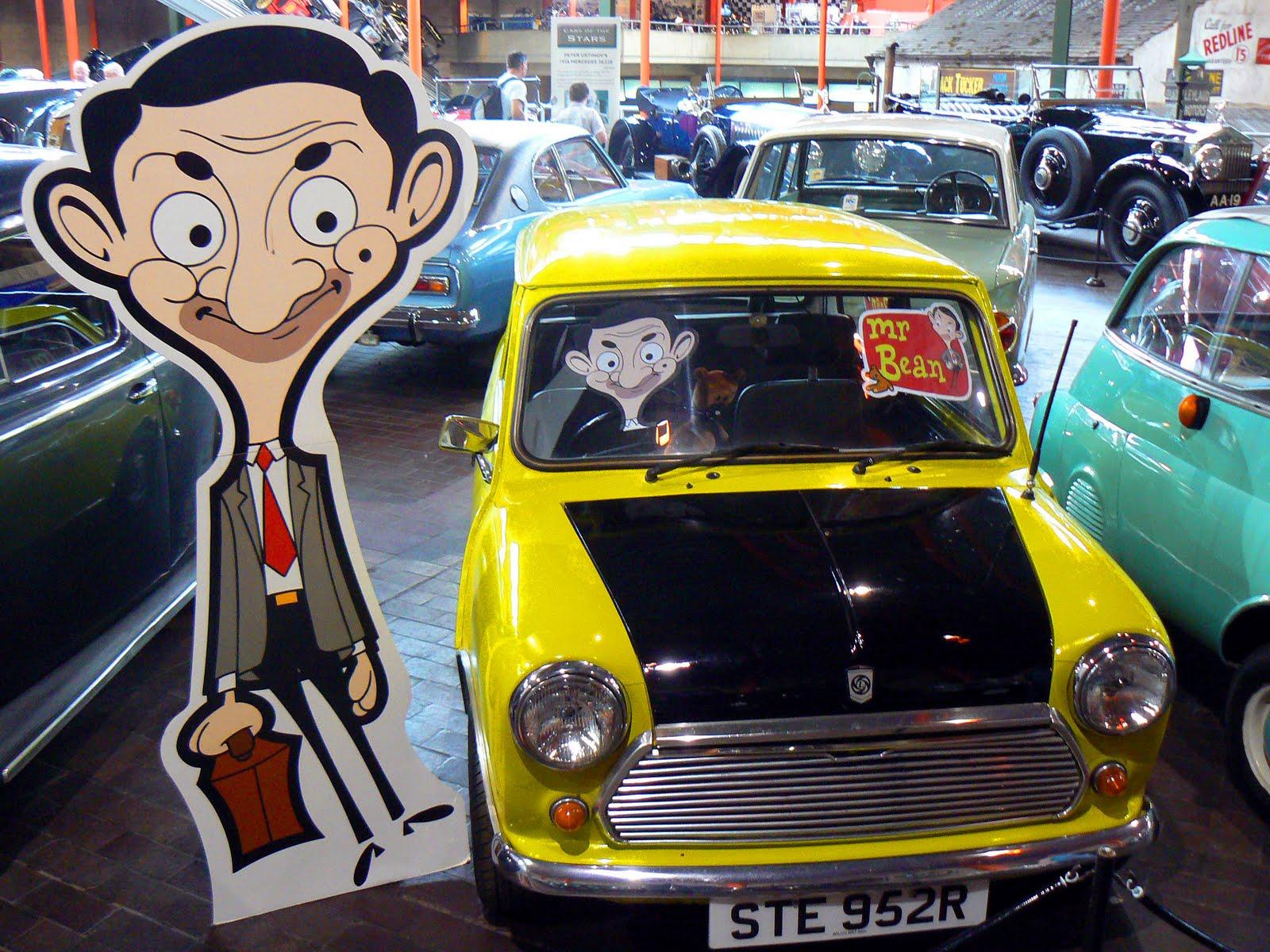 صورة سيارة مستر بن , ما اجمل سيارة مستر بن