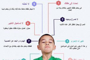صورة التعامل مع الطفل العنيد , كيفية التعامل مع العند لدى الاطفال