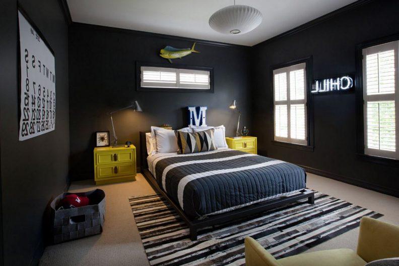 صورة غرف شباب , اجمل غرف الشباب