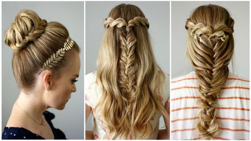 صور تسريحات بسيطة للشعر الطويل , اشيك تسريحات الشعر الطويل