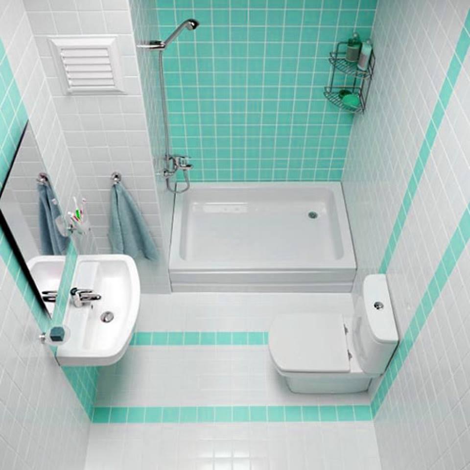 صور ديكورات حمامات صغيرة جدا وبسيطة , ديكور حمام بمساحه صغيره