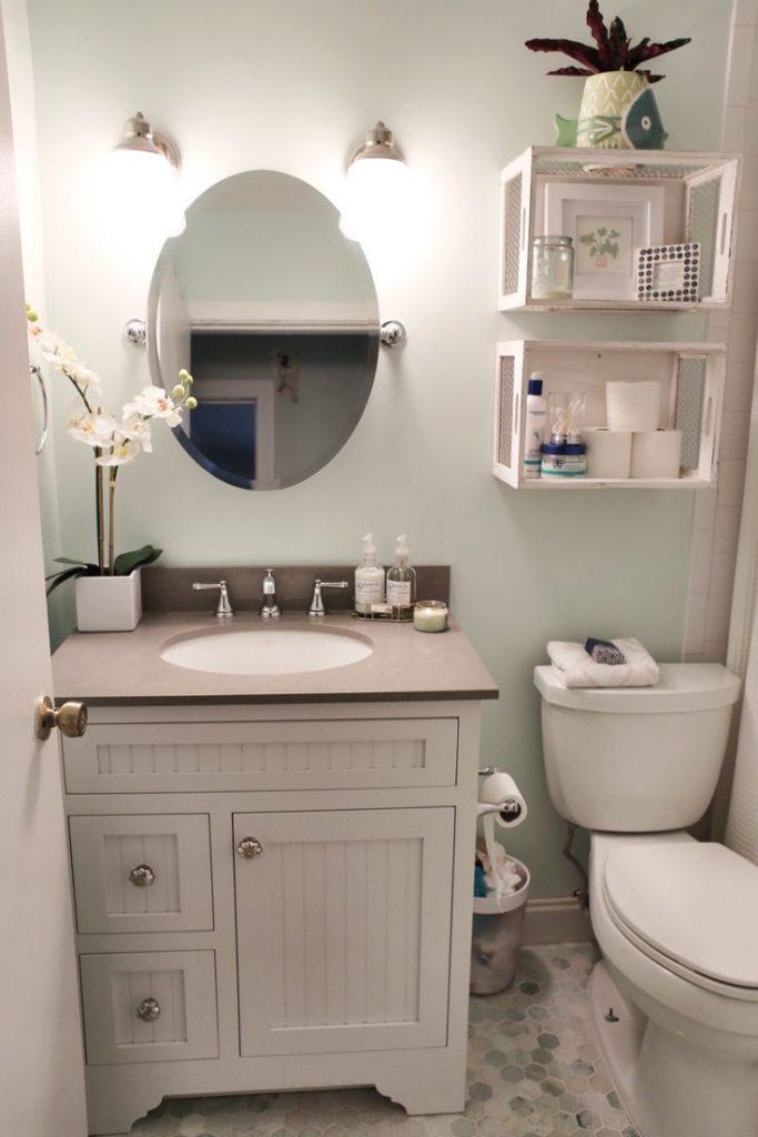 حمامات صغيرة ديكورات الحمامات الصغيره كيف