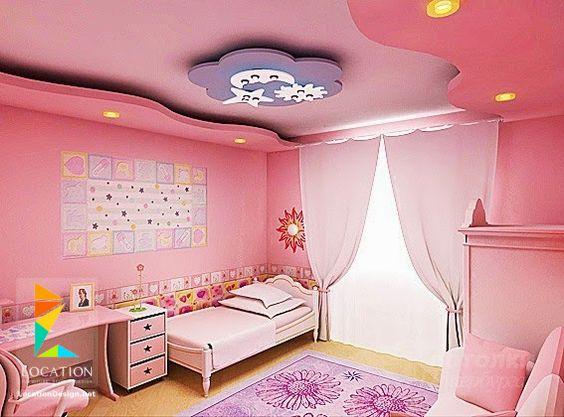 صور ديكورات جبس غرف نوم اطفال , احدث تصميمات الديكورات الجبس لغرف نوم الاطفال