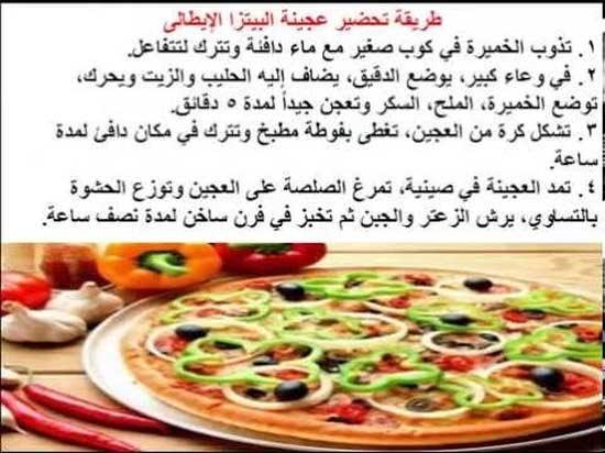بالصور طريقة عمل البيتزا , البيتزا بطريقه شهيه وسهله 6358