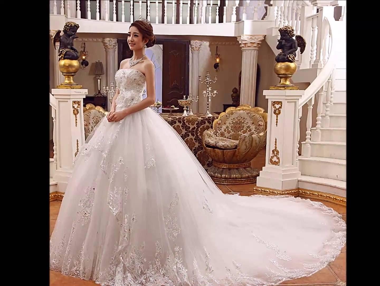 بالصور فساتين افراح , اختاري من بين هذه الفساتين الجميلة للافراح 100 3