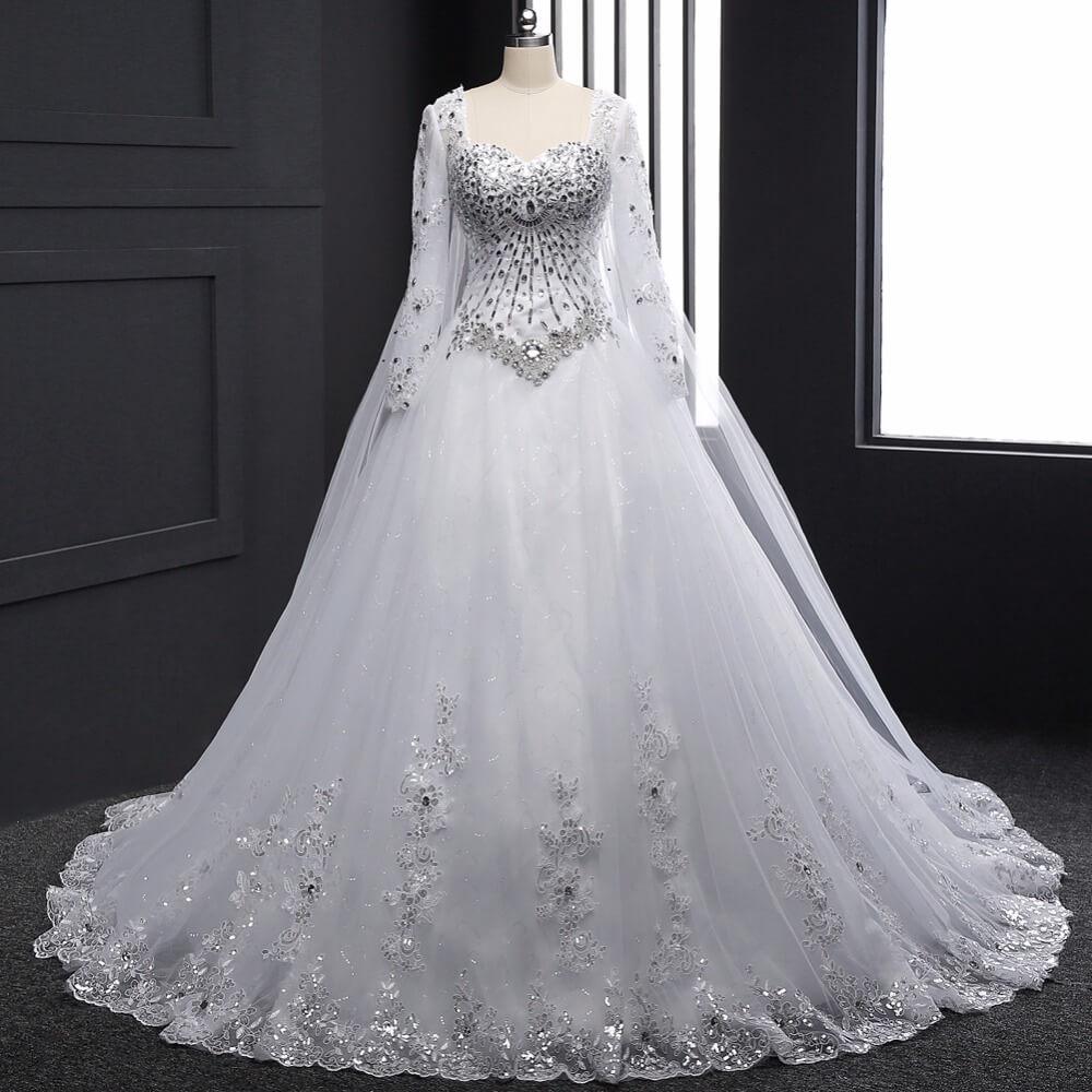 بالصور فساتين افراح , اختاري من بين هذه الفساتين الجميلة للافراح 100 6