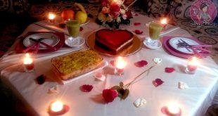 صورة عشاء رومانسي في البيت , خطوات وافكار لتحضير عشاء رومانسي لك ولزوجك في المنزل