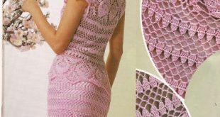 بالصور فساتين كروشيه , اروع الفساتين الكروشيه 1461 12 310x165