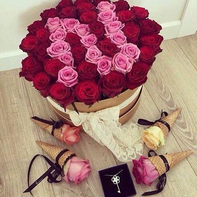 صوره بوكيه ورد كبير , جمال بوكيهات الورد