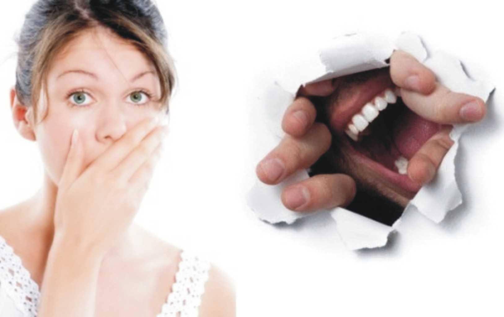 صوره رائحة الفم الكريهة , اسباب وحلول لرائحة الفم الكريهة