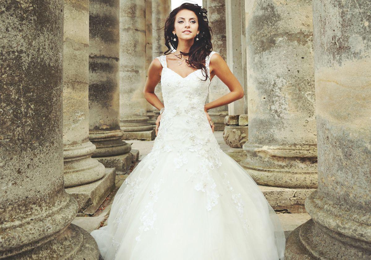 بالصور صور فساتين اعراس , شاهد احدث فساتين للاعراس 1681 1