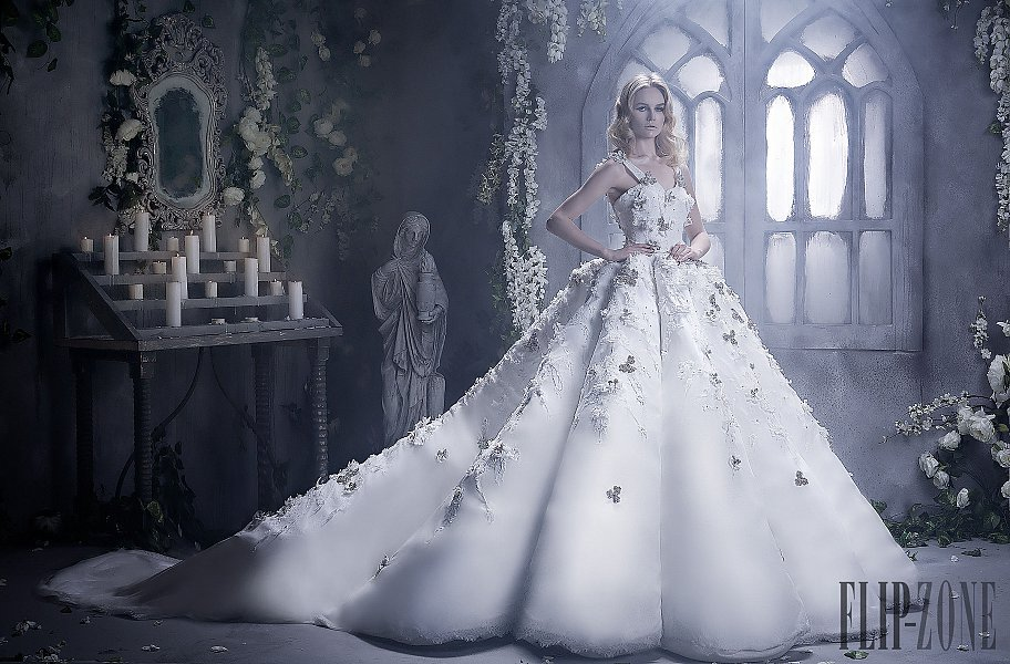 بالصور صور فساتين اعراس , شاهد احدث فساتين للاعراس 1681 10