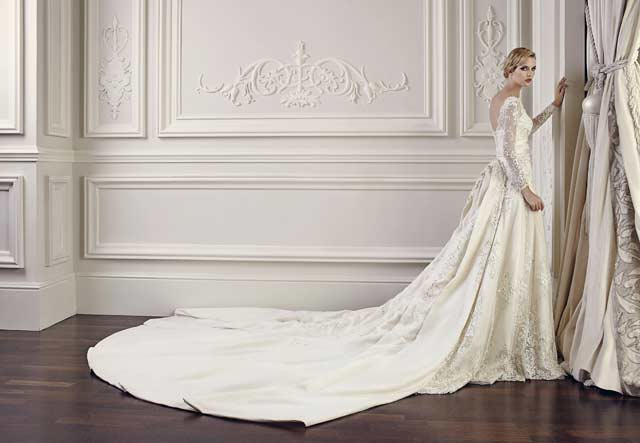 بالصور صور فساتين اعراس , شاهد احدث فساتين للاعراس 1681 2