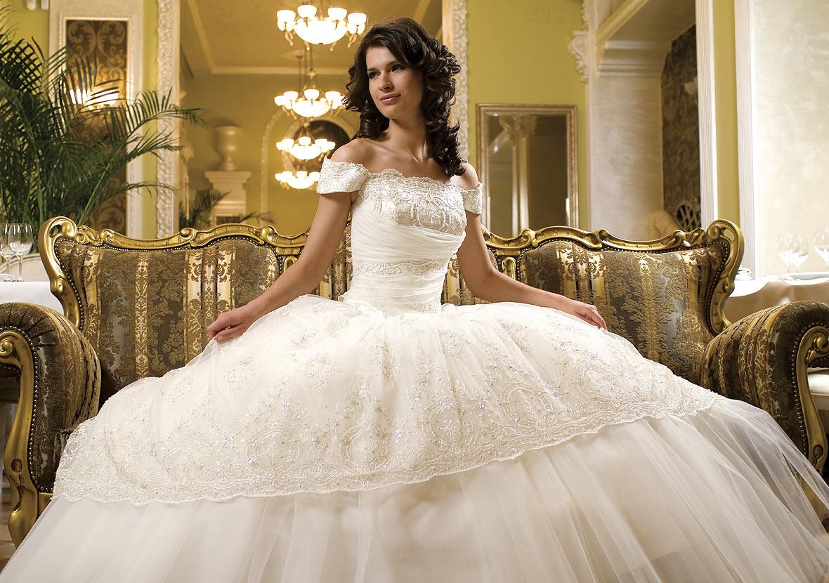 بالصور صور فساتين اعراس , شاهد احدث فساتين للاعراس 1681 6