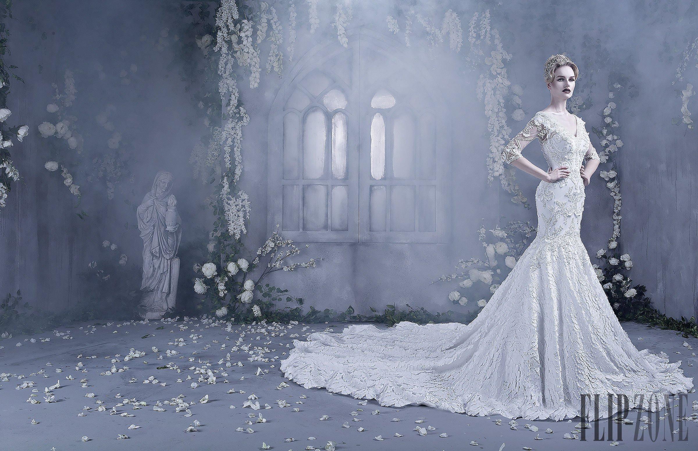 بالصور صور فساتين اعراس , شاهد احدث فساتين للاعراس 1681 9