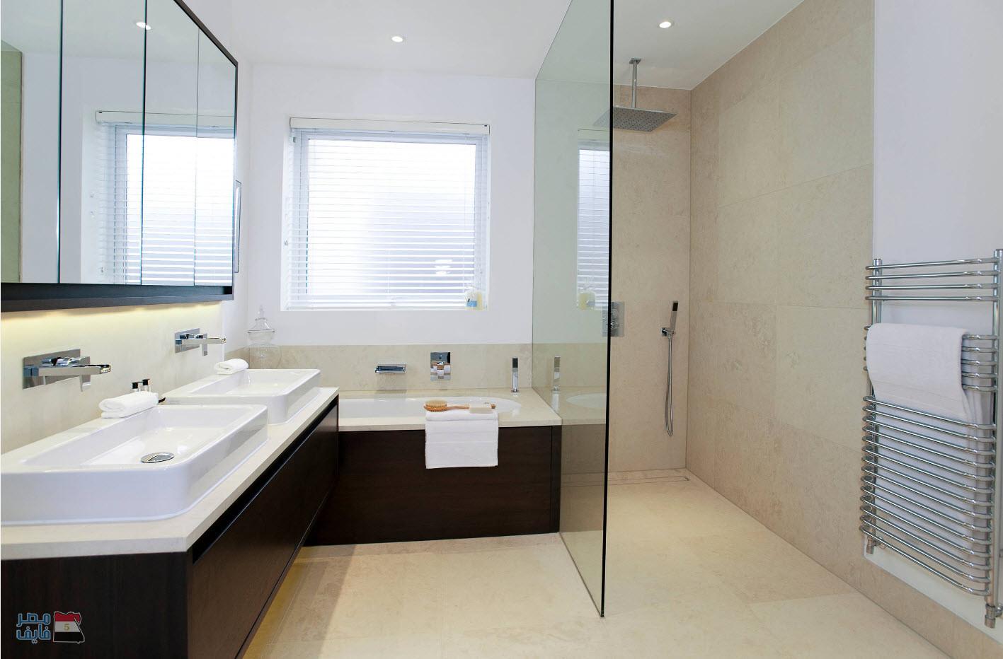 Guest Bathroom Double Vanity