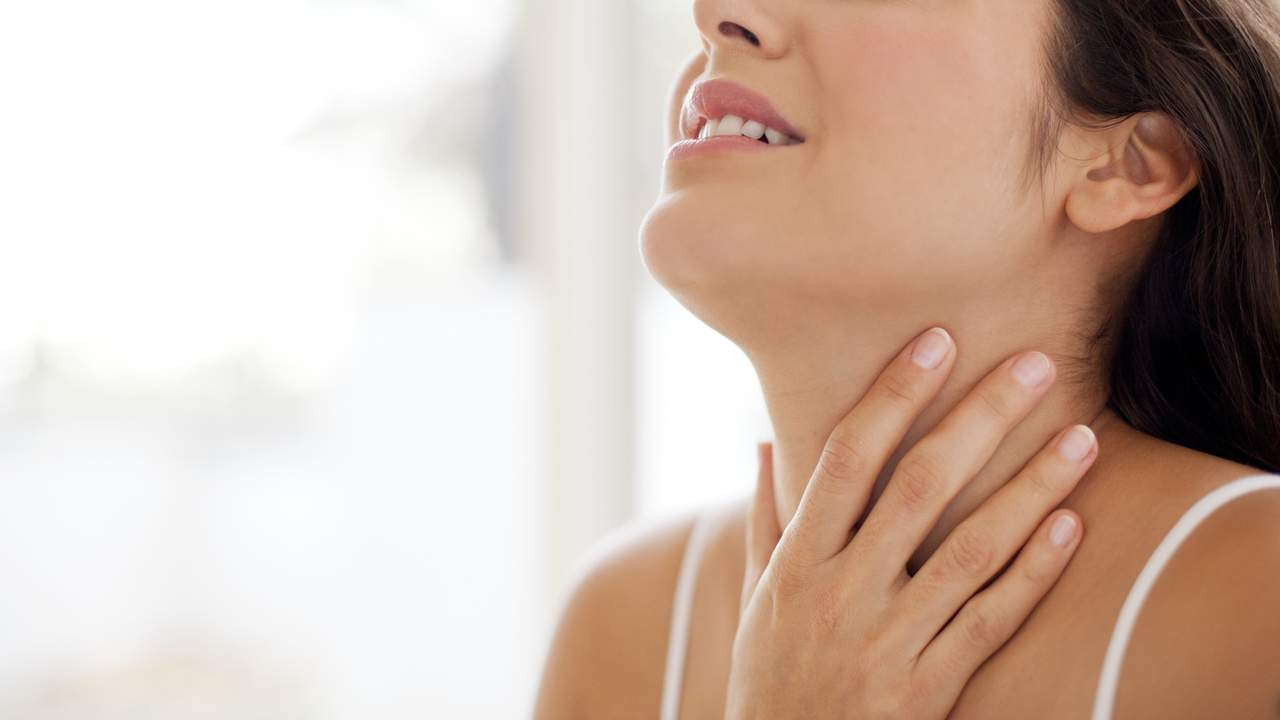 صورة علاج التهاب اللوزتين , تعرف على علاج اللوزتين