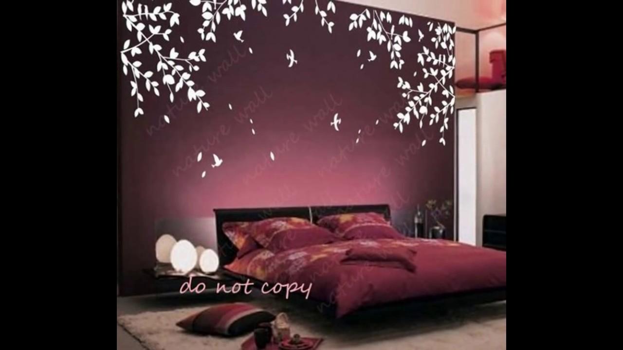 دهانات غرف نوم اشكال مختلفة لدهانات غرف النوم كيف