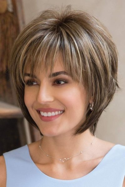 صورة قصات شعر قصير ٢٠١٧ , تسريحات شعر قصير 2920 4