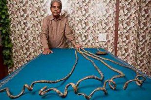 صورة اطول اظافر في العالم , رقم قياسى جديد فى طول الاظافر