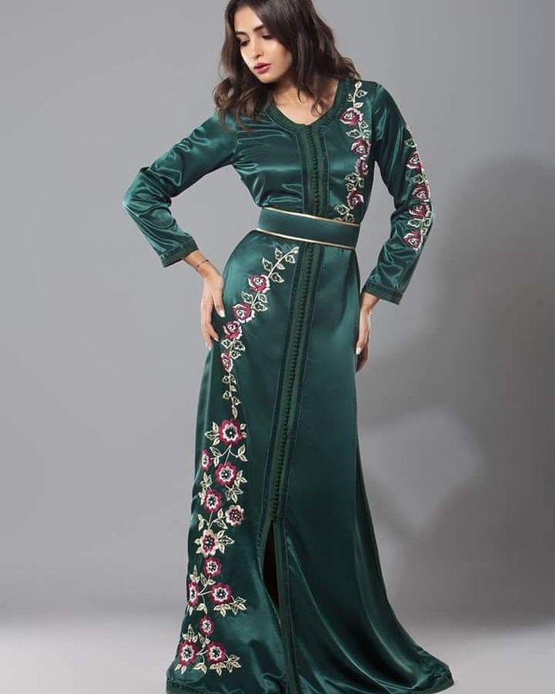بالصور صور قفطان مغربي , اللباس المغربى التقليدى 3964 1