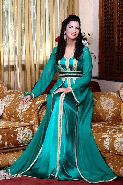 بالصور صور قفطان مغربي , اللباس المغربى التقليدى 3964 6