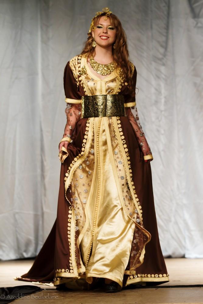 بالصور صور قفطان مغربي , اللباس المغربى التقليدى 3964 7