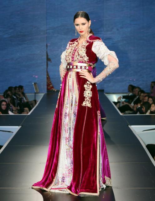 بالصور صور قفطان مغربي , اللباس المغربى التقليدى 3964 8