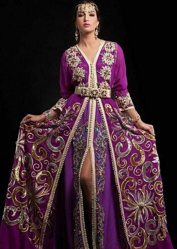 بالصور صور قفطان مغربي , اللباس المغربى التقليدى 3964 9