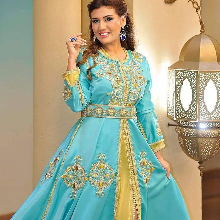 بالصور صور قفطان مغربي , اللباس المغربى التقليدى 3964