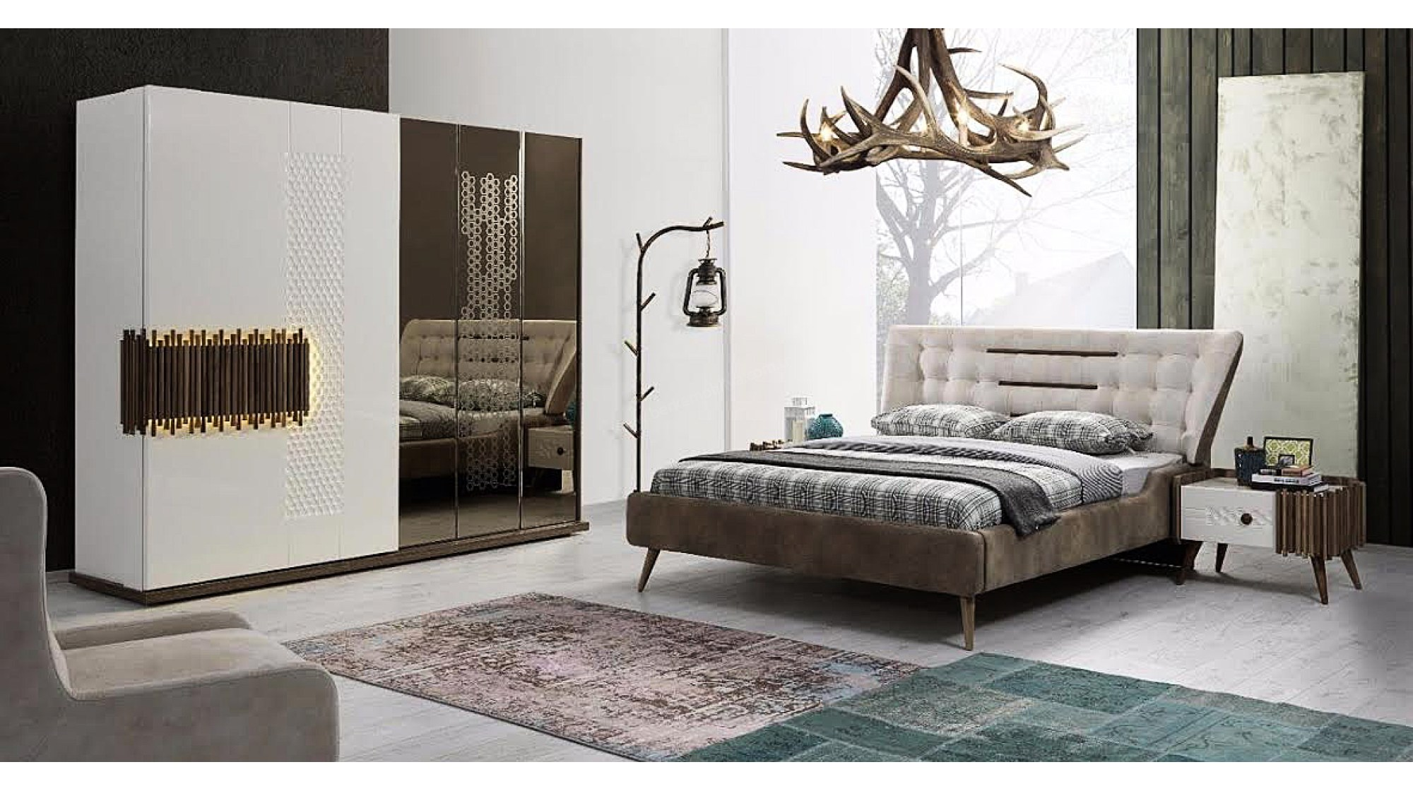 بالصور غرف نوم جديده , احدث غرف النوم 2019 4042 4