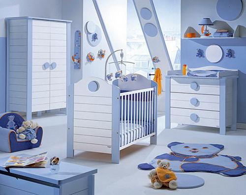 بالصور غرف اطفال مودرن , احدث غرف مودرن للاطفال 4060 12