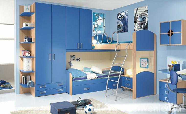 بالصور غرف اطفال مودرن , احدث غرف مودرن للاطفال 4060 13