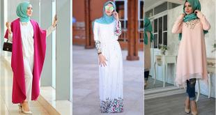 صور تنسيق الملابس للمحجبات , اختيار الملابس وتنسيقها للمحجبات