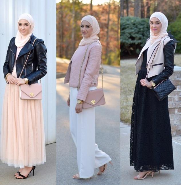 بالصور تنسيق الملابس للمحجبات , اختيار الملابس وتنسيقها للمحجبات 4075 10