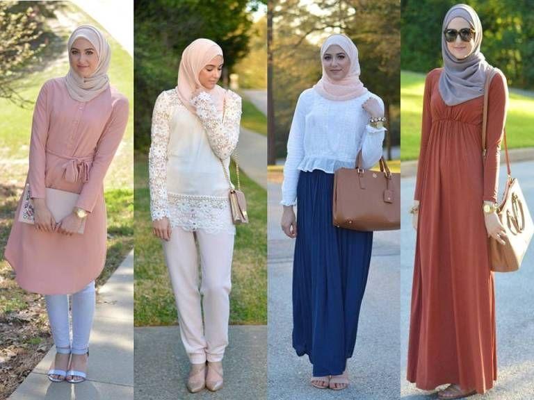 بالصور تنسيق الملابس للمحجبات , اختيار الملابس وتنسيقها للمحجبات 4075 13