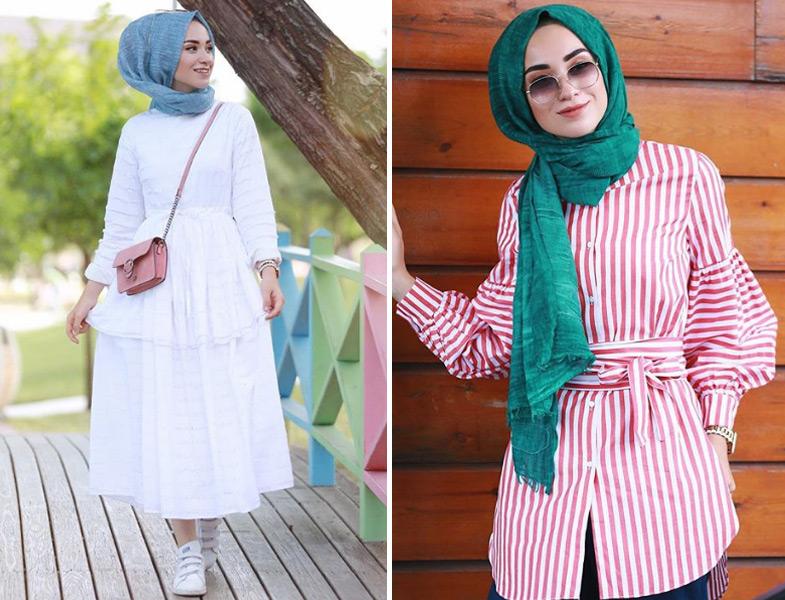 بالصور تنسيق الملابس للمحجبات , اختيار الملابس وتنسيقها للمحجبات 4075 15