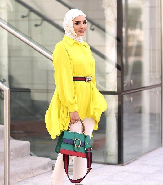 بالصور تنسيق الملابس للمحجبات , اختيار الملابس وتنسيقها للمحجبات 4075 17