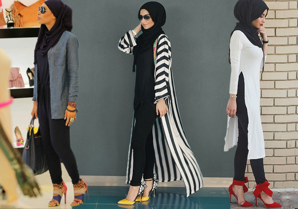 بالصور تنسيق الملابس للمحجبات , اختيار الملابس وتنسيقها للمحجبات 4075 3