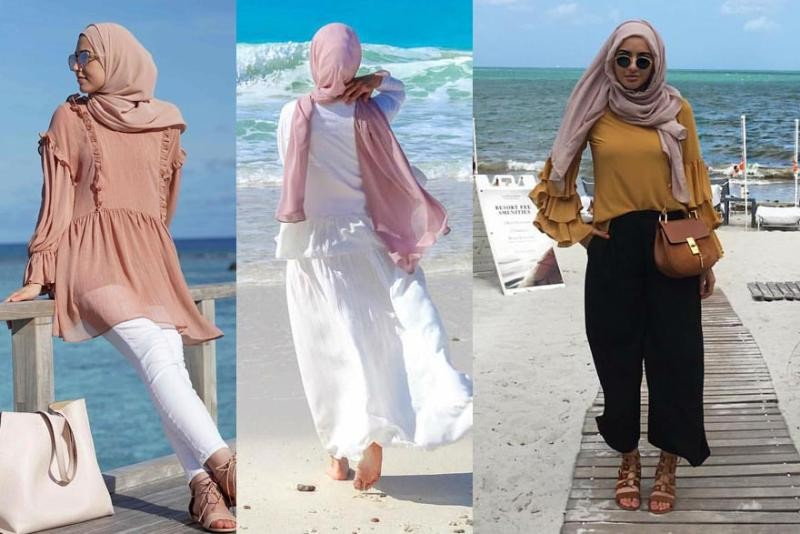 بالصور تنسيق الملابس للمحجبات , اختيار الملابس وتنسيقها للمحجبات 4075 6