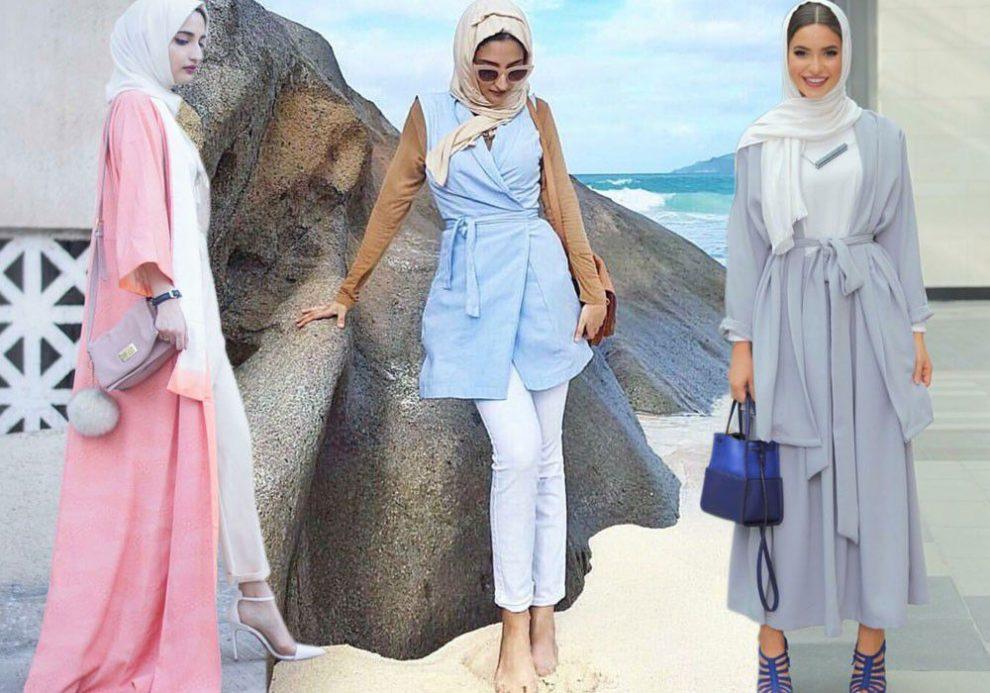 بالصور تنسيق الملابس للمحجبات , اختيار الملابس وتنسيقها للمحجبات 4075 8