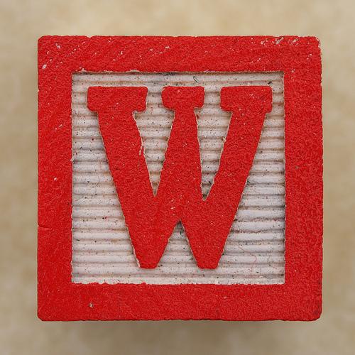 صور حرف W تعرف على حرفw كيف