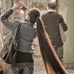 اطول شعر في العالم , اطول سيدات تمتلك شعر