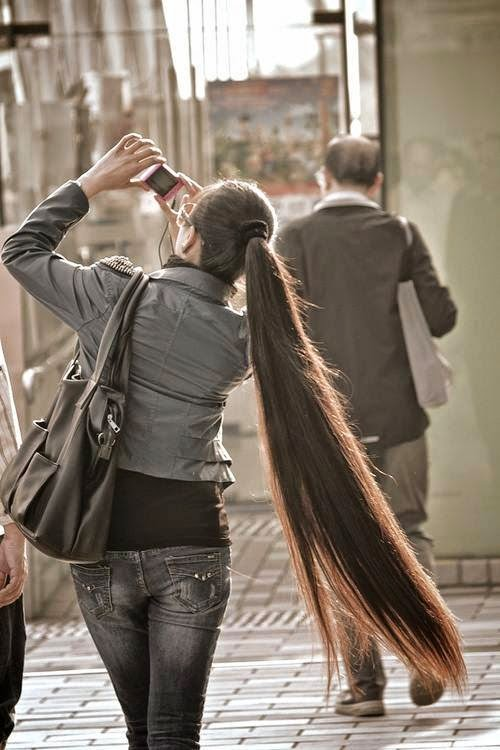 صورة اطول شعر في العالم , اطول سيدات تمتلك شعر 4952