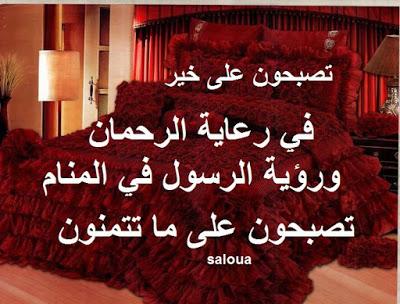صورة مسجات تصبحون على خير اسلامية , رسائل اسلامية مسائية جميلة