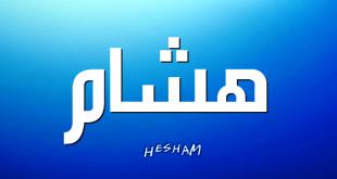 صوره معنى اسم هشام , معنى لم تعرفه من قبل لاسم هشام