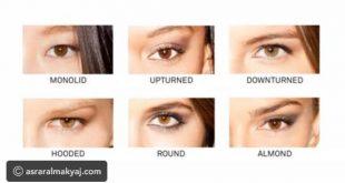 بالصور انواع العيون , تعرفي علي نوع عيونك و ميك اب العيون المناسب لها 1004 3 310x165