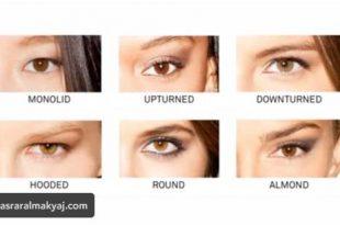 بالصور انواع العيون , تعرفي علي نوع عيونك و ميك اب العيون المناسب لها 1004 3 310x205