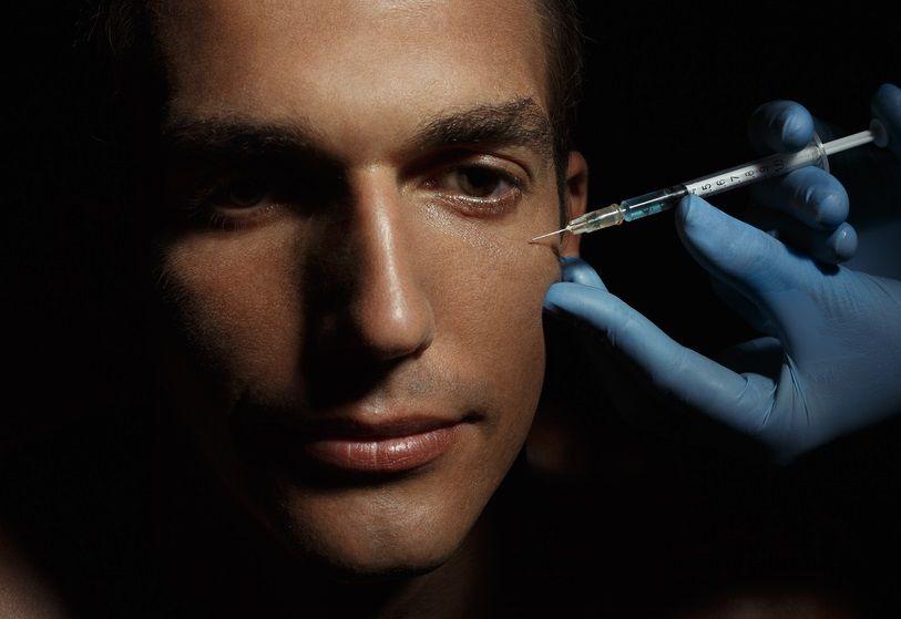 صوره علاج نحافة الوجه عند الرجال , ما هو علاج نحافه الوجه