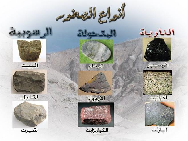 صورة انواع الصخور , تعرف علي انواع الصخور واعمارها